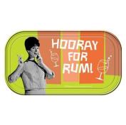 Retro Humour Hooray for Rum! Magnetic Mini Tin Sign