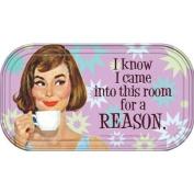 Retro Humour I know I...Reason Magnetic Mini Tin Sign