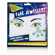 Face Jewellery - Green & Blue
