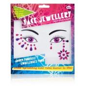 Face Jewellery - Pink & Purple
