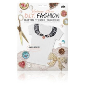 DIY Fashion - Glitter T-shirt Transfers Vintage Lace