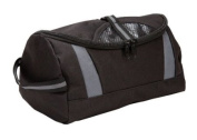 Simple Travel Hanging Toiletry Case : Black