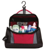 Simple Travel Hanging Toiletry Case : Burgundy