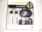 Sharper Image 7-in-1 Travel Toiletry Set