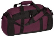 Joe's USA - Gym Bag Duffle Workout Sport Bag - Maroon