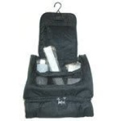 Travel Toiletry Bag with bottles
