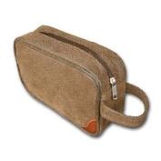 "Bellemonde ""Brown Scotch Grain"" Travel Kit"