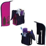 Travel Tote Toiletry Bag Black