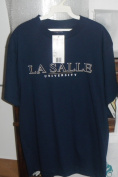 Jansport Collegiate Licenced men's Tee Shirt Navy La Salle University Medium