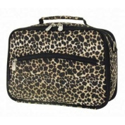Travelon 61090 Quilted Microfiber Mini Cosmetic Organiser And Travel Case - Leopard