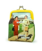 walk faster… the children are catching up Coin Purse by anne taintor
