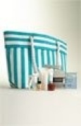 NEW! Summer 2012 Nordstrom Exclusive Woven Straw LARGE striped Tote Bag (Colour
