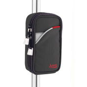 Juvo Products CW101 Cane Caddy, Black/Red/White