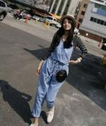 New Fashion Korean Lady Women Black Grid PU Leather Clutch Purse Wallet Evening Bag