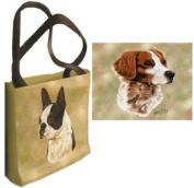 Brittany Spaniel Tote Bag - 17 x 17 Tote Bag