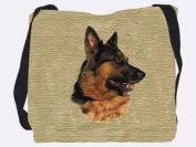 German Shepherd Tote Bag - 17 x 17 Tote Bag