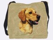 Golden Retriever Tote Bag - 17 x 17 Tote Bag