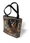 Deer Lodge Tote Bag - 17 x 17 Tote Bag