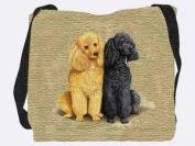 Poodles Tote Bag - 17 x 17 Tote Bag