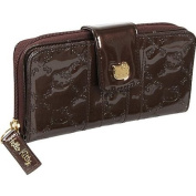 Loungefly Hello Kitty Brown Embossed Long Wallet