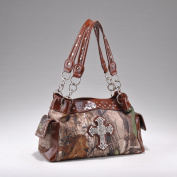 licenced REALTREE WESTERN CAMO CAMOUFLAGE SHOULDER BAG HANDBAG RT1-13246B APG/BR