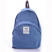 New Fashion Korean Unisex Blue Canvas Vintage Shoulder Bags Messenger Purse Hobo Tote Handbag School Bag