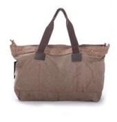 New Fashion Korean Unisex Coffee Canvas Vintage Shoulder Bags Messenger Purse Hobo Tote Handbag School Bag