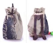 New Fashion Korean Unisex Khaki Canvas Vintage Shoulder Bags Messenger Purse Hobo Tote Handbag School Bag
