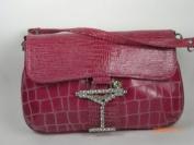 Fuscia Make bag with Strap