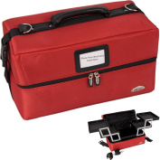 SOFT SIDED MAKEUP CASE RED - WB18