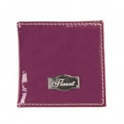 Solid Purple Mirror * Flaunt Handbag NWT Patent Liquid Gloss 92135