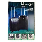 HEYS Velocity X Luggage - 2 pc. set 55.9cm & 66cm