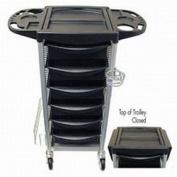 Celebrity 5-Tray Utility Trolley
