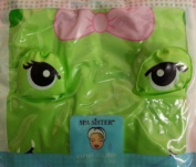 Spa Sister Stylish Green Frog Shower Cap