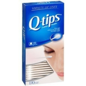 Q-Tips Cotton Swabs 170 Count (Pack Of 6) Total 1020 Swabs