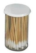 Swift First Aid 7.6cm Non-Sterile Cotton Tip Applicators In Plastic Vial (100 Pe...