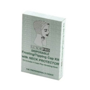 Luxor Pro Disposable Frosting/Tipping Cap Kit with Neck Protector Model No. 2474NP