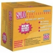 SPILO Pre-Cut Professional Foil 500 Pre Cut Sheets