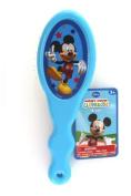 Disney Mickey & Minnie Hair Brush - Blue