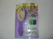 Disney Fairies Hairbrush and Accessories-9 Pc Set