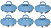 Century Shampoo Scalp Massage Brush #100 * Blue * 6 - Brushes