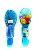 Blue Winnie the Pooh Hair Brush with Bonus Mini Brush - Winnie the Pooh Brush