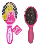 Mattel Barbie Glamorous Polka Dot Hair Brush - Barbie Brush