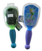 Disney Hair Brush With Easy-Grip Handle, Tinker Bell - Blue