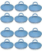Century Shampoo Scalp Massage Brush #100 * Blue * 12 - Brushes