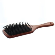 Elegant Brushes Anti-Static Cushion Pin Brush, Brown