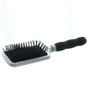 Elegant Brushes New Paddle Brush, Silver
