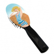 Stylish Hairbrush Bikini Blonde Blue