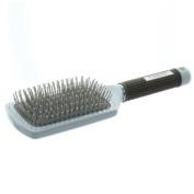 Elegant Brushes Superlite X5 Large Paddle Pin Brush, White, One Size