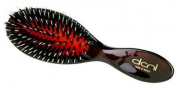 The DCNL K80003 Brosse Purse Tortoise Porcupine Red Cushion Brush